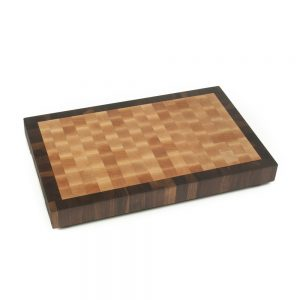 one-and-three-quarter-thick-maple-end-grain-board-with-walnut-outside-frame